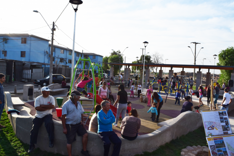 Inauguración Plaza Folklore Religioso
